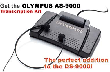 The Olympus AS-9000 Transcription Kit is the perfect addition to the DS-9000