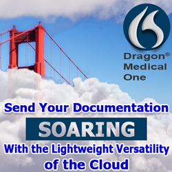 Send your documentation soaring with Dragon Medical One