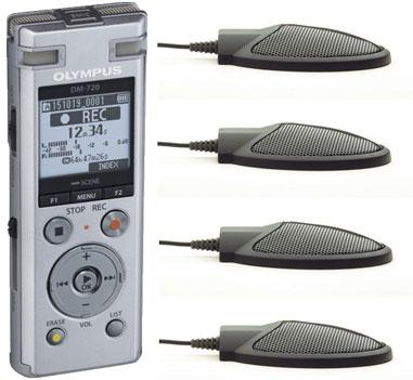 Olympus DM720 and CM-1000 Microphones