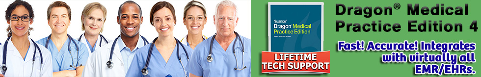 Dragon Medical Practice Edition 4 is used by doctors to increase productivity and time with their patients