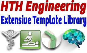 Start-Stop's exclusive and extensive Medical Template Library