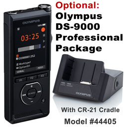 Image of Olympum DS-9000 Professional Package / DS-9000 and CR-21 cradle.