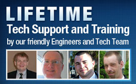 Life Time Tech support with our Friendly Engineers.