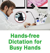 Start-Stop Hands Free Dictation System II