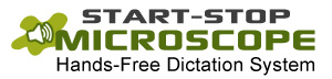 Start-Stop Microscope Hands Free Logo