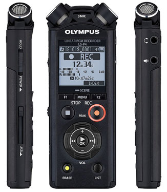 Olympus LS-P4 Linear PCM Digital Recorder