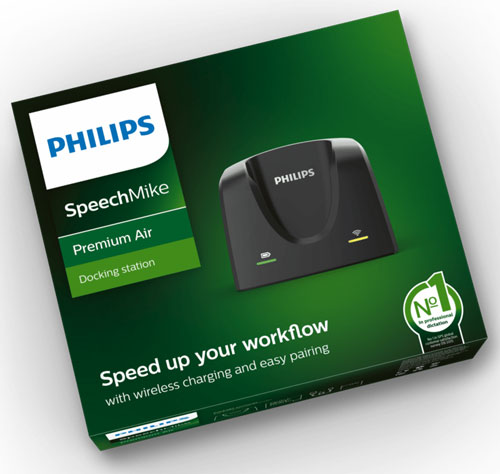 Philips Docking Station ACC4000 for SMP4000 SpeechMike Premium Air