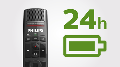 Philips SpeechMike Premium Air charges wirelessly