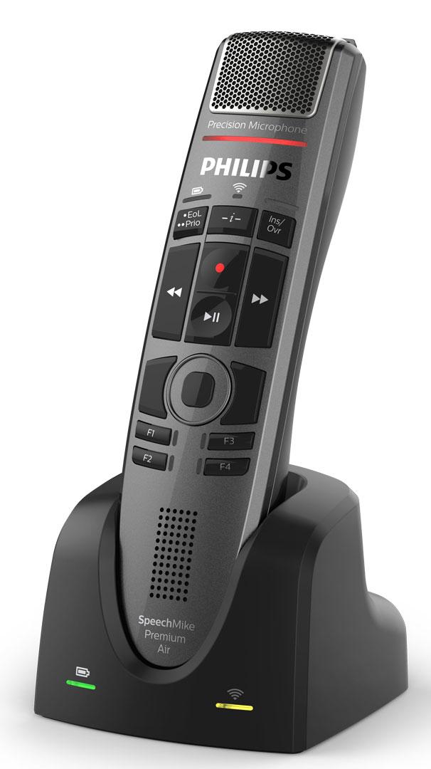 Philips SpeechMike Premium Air SMP4000 Wireless Microphone