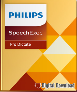 Philips SpeechExec Pro 10 Dictate Software
