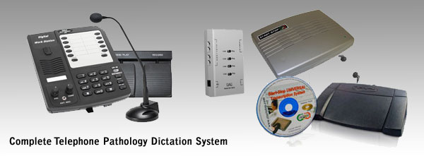 Complete Wired Pathology Dictation System