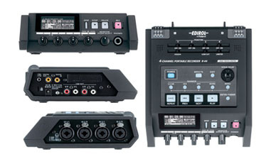 Roland R44 Views: Top, Right, Left, Front