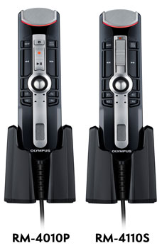 Olympus RecMic II models RM-4010P and RM-4110S versions.