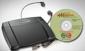 Start-Stop® 4-Channel Transcriber