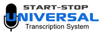 Start-Stop UNIVERSAL Transcription System