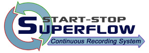 Start-Stop Superflow Continuous Recording System