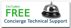 Free Lifetime Concierge Technical Support