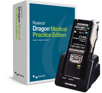 Nuance Dragon Medical Practice Edition 4 with Olympus DS-7000