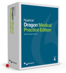 Nuance Dragon Medical Practice Edition 4 Upgrade (*digital download. Box is for display purposes only.)