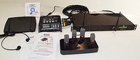 Start-Stop  Secure WIRELESS 4-Channel Conference Recording/Transcription System