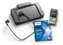 Philips Pocket Memo dictation and transcription set DPM6700 Bundle