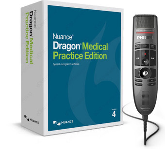 Dragon Medical Practice Edition 4 with SpeechMike Premium