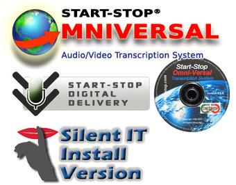 "Digital Delivery - Start-Stop OmniVersal Transcription Software - IT Deployment ""Silent Install/Uninstall"" Version"
