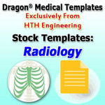 Radiology Templates for Dragon Medical Practice Edition 2.3