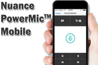 Nuance PowerMic Mobile iPhone and Android App