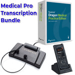 The transcription and dictation kit for your medical practice: DS-9500 + Dragon Medical Practice Edition 4 + Olympus AS-9000