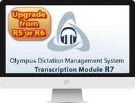 Olympus AS9004 ODMS R7 Transcription Module UPGRADE LICENSE and KEY (digitally delivered) FROM R5 or R6