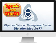 AS9003 ODMS R7 Dictation Module UPGRADE LICENSE and KEY (Digtally delivered) FROM R5 or R6