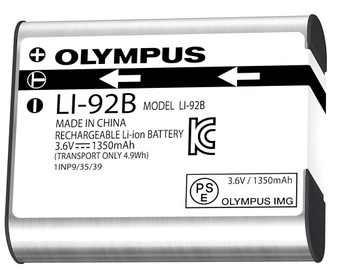 Olympus Li-92B Rechargeable Battery for Olympus DS-9500 and DS-9000