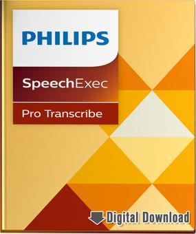 Philips SpeechExe Pro 10 Transcription Software