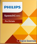 Philips SpeechExe Pro 10 Dictate Software