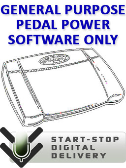 General Purpose Pedal Power Software - Digital Download