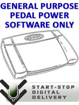General Purpose Pedal Power Software - Digital Download