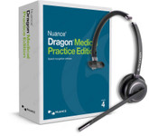 Dragon Medical Practice Edition 4 and Andrea Wireless Bluetooth headset