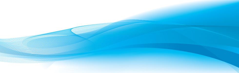 blue wavey lines on white background