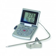 CDN Therm Digital Probe Combo Silver Timer/Clock