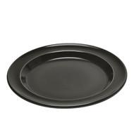 Emile Henry Fusain Dinner Plate