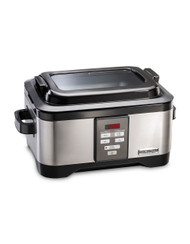Hamilton Beach Professional Sous Vide and 6 Qt. Slow Cooker