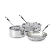 All-Clad 5pc Stainless Set