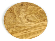 Cutting Board Round, Olivewood Made in France