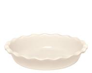 """Emile Henry Argile Pie Dish  26cm/10"""" 1.4L/1.5qt"""