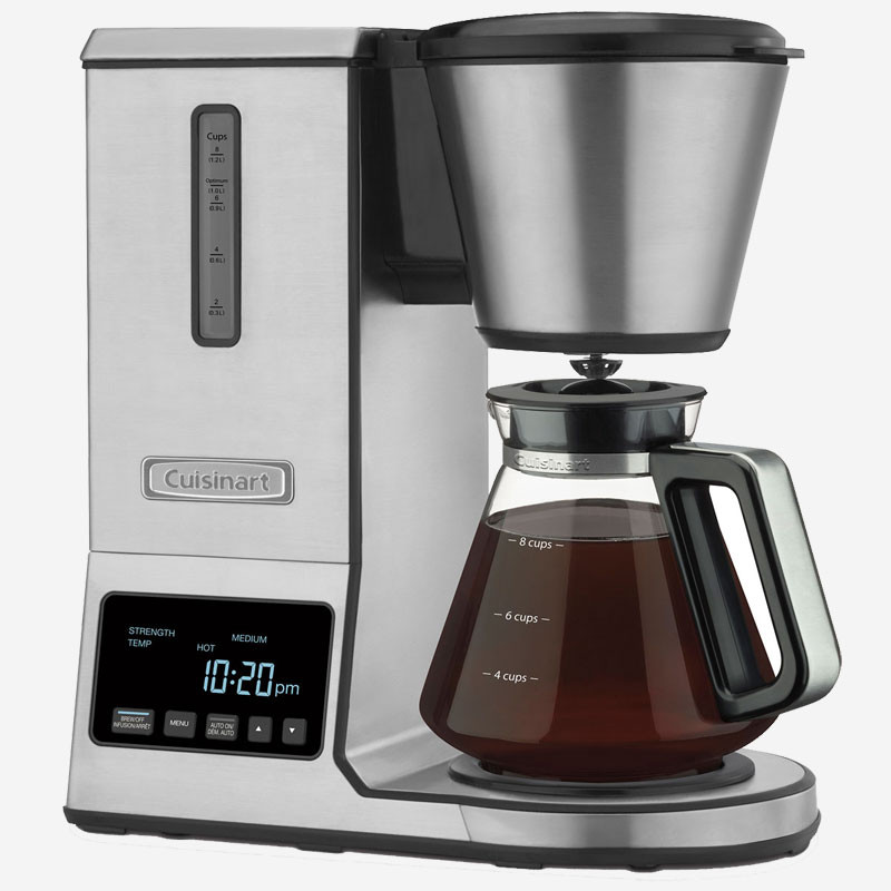 Cuisinart Pureprecision 8 Cup Pour Over Coffee Brewer