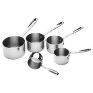 All-Clad 5pc Stainless Steel Measuring Cup Set