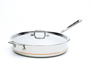 All Clad 6 Qt Copper Core Saute Pan w/ Lid