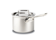 All Clad Brushed D5 2 Qt Sauce Pan w/ Lid