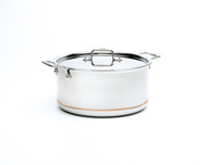 All Clad Copper Core 8 Qt Stock Pot w/ Lid